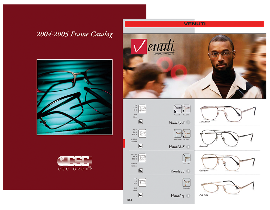 CSC Frame Catalog 2004-05