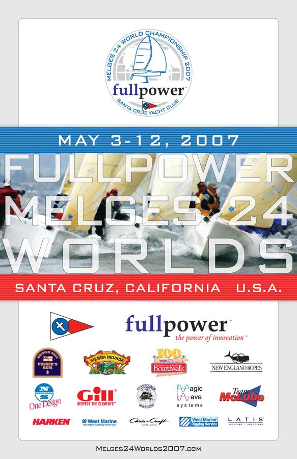 2007 Melges 24 Worlds Poster