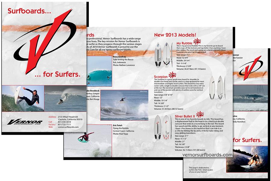 Vernor 2013 Half-fold Board Guide