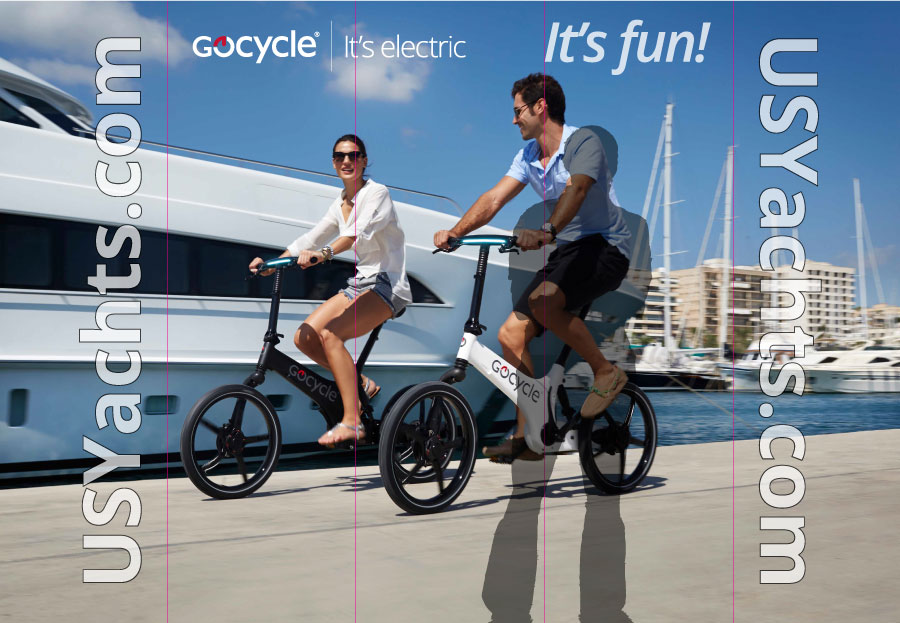 GoCycle Trade Show Booth-Graphic
